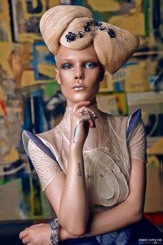 Fashion World 5th Issue Photographer - Robert coppa  Hair - Antunes Celine Makeup - Anaïs Cordevant   Models - Marie Ds  Photographer assistant Jérémy Boyer