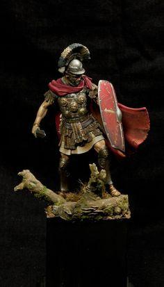 Toy soldier Roman Centurion - 1st century, CE.