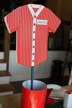 baseball party -- make this?!? AWESOME SITE!!!! JJB