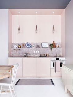 La cuisine de l'appartement Marie-Sixtine