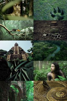 castelobruxo aesthetic // The Brazilian school for magic, which takes students from all over South America, may be found hidden deep within the rainforest. Castelobruxo is an imposing square edifice of golden rock, often compared to a temple.
