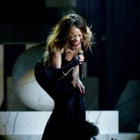 "Rihanna performing ""Stay"" at the 55th Annual GRAMMY Awards"