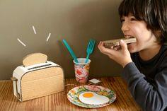 DIY Cardboard Toaster