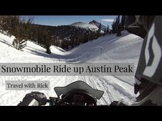 Snowmobile Hill Climb. This week we climb to the top of Austins Peak on snowmobiles! See the view from over 11,000 feet up, you can see all the way to the Tetons!