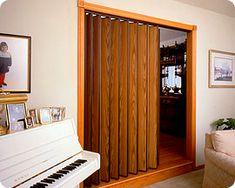 concertina door