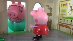 Peppa Pig english.Peppa and cave pigs.Peppa Pig and museum of dinosaurs