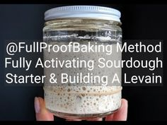 Activating Sourdough Starter & Building A Levain Sourdough Bread Starter, Sourdough Recipes, Bread Recipes, Home Made Puff Pastry, Bread Bun, Our Daily Bread, Food Categories, Baking Supplies, Fermented Foods