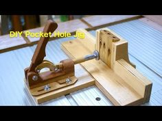 (141) DIY Pockethole jig 2 木製治具2 - YouTube Diy Easel, Pocket Hole Jig, Kreg Jig, Diy Videos, Joinery, Woodworking Tools, Home Projects, Youtube, Diy And Crafts