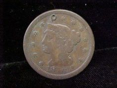 1846 Large Cent Braided Hair Coin One Cent Must See Small Date   eBay