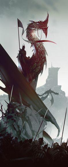 Nazgul – Lord of the Rings fan art by ömer tunç