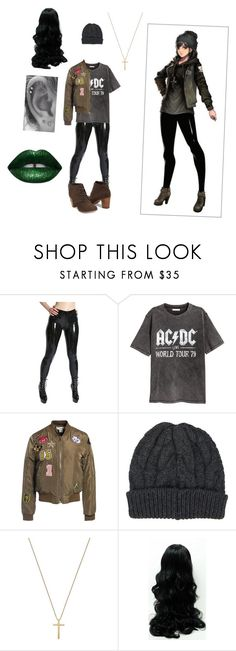 """""""Untitled #61"""" by ameun ❤ liked on Polyvore featuring H&M, Sans Souci, Barneys New York, Gucci and TOMS"""