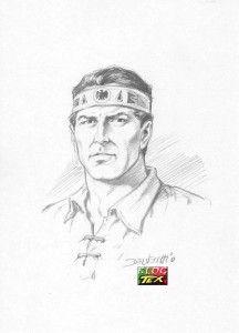 Tex Willer dalla matita di Pasquale Del Vecchio, amico di Safarà e fumettista alla Bonelli