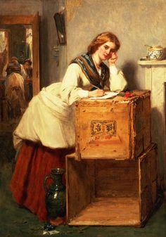Russian Women Writing Thomas 9