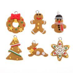 Chegada 6 peças decoração pingente de natal árvore de natal decorações Festival ornamento partido em Decoração de natal de Casa & jardim no AliExpress.com | Alibaba Group