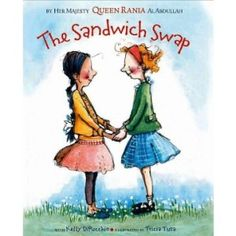 sandwich swap, book about friendship