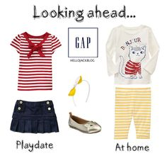 What She'll Be Wearing - Playdate & At home outfits