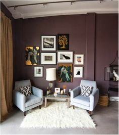 1000 images about purple on pinterest purple walls for Mauve kitchen walls