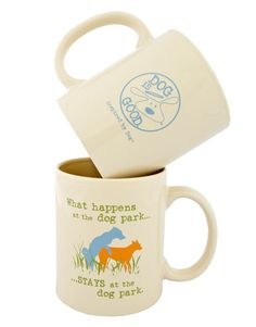 What Happens at the Dog Park Mug! #dogisgood