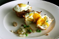 Hash Brown & Egg Cups - Bored With Your Breakfast? 20 New Ideas to Mix Up Your Mornings via Brit + Co.