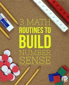 Buzz Worthy Ideas – 3 Math Routines to Build Number Sense Discover 3 strategies that you can instantly use in your classroom to support number sense and place value. Math routines and ideas for primary and upper grades. Fun Math, Math Games, Math Activities, Math Resources, Kids Math, 4 Kids, Math Coach, Math Blocks, Math Talk