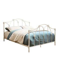 Furniture of America Dessy Full Metal Open Frame Bed - King Metal Bed, Metal Beds, Twin Platform Bed, Upholstered Platform Bed, Stylish Beds, Beds Online, Headboard And Footboard, Panel Bed, Bedroom Furniture Sets