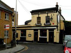 The Gun pub, Coldharbour Lane, Canary Wharf.