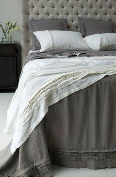 crellini rafelle smoke bedcover
