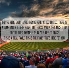 Love this quote from fever pitch!! I've always felt this way about hockey!