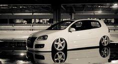 VW MKV GTI Bagged!