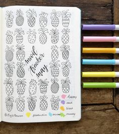 """253 Likes, 17 Comments - @bujopassion on Instagram: """"My mood tracker for may. I am so excited to start coloring it """""""