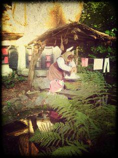 Wasvrouwtje in het Kabouterdorp (Sprookjesbos) EFTELING