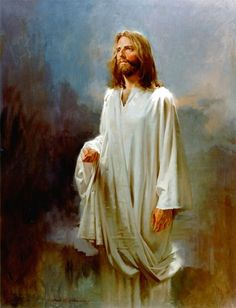 Jesus Christ Oil Painting | John Howard Sanden - American Portrait Painter