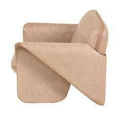 de Sede  DS 125 sofa and chair Gerd Lange 1970's