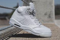 Air Jordan 5 Retro Premium 'Pure Platinum' Launching on Saturday - EU Kicks: Sneaker Magazine