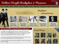 Research Site - Grades 4-12 - Wilbur Wright Birthplace & Museum offers an online brief history of the Wright family, photos of the museum, and more.