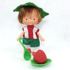 Vintage Strawberry Shortcake Boy Huckleberry In BERRY WEAR Outfit Plus Extras #4  | eBay