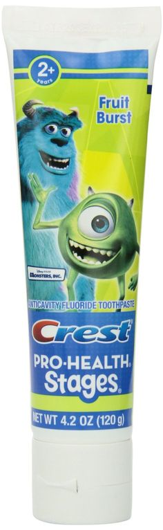 Amazon.com: Crest Pro-Health Stages Monsters, Inc. Kid's Toothpaste 4.2 Oz (Pack of 12): Health & Personal Care