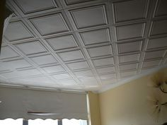 R 24 Styrofoam Ceiling Tile has been one of the most popular ceiling tile because of its classic clean look.