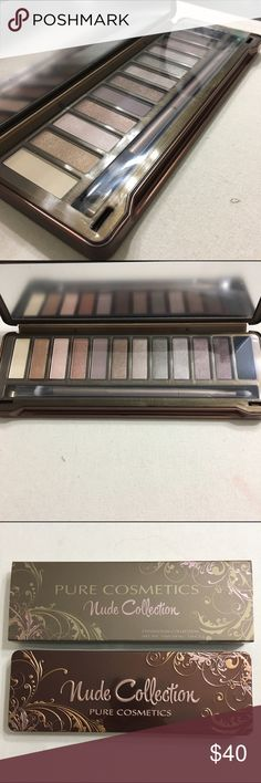 Pur Cosmetics Nude Palette Brand new never been used and still sealed. Retails for $50 Sephora Makeup Eyeshadow