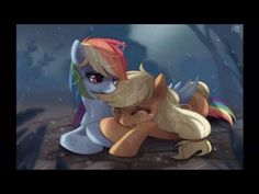mlp say something (apple jack and rainbow dash) - YouTube