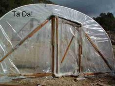 How to build a small, cheap and easy greenhouse