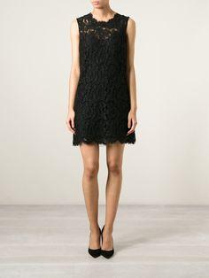 Dolce & Gabbana Floral Lace Dress - Biedermann En Vogue - Farfetch.com