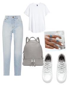 """Untitled #6"" by diaztir on Polyvore featuring Yves Saint Laurent, H&M and Michael Kors"