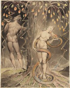William Blake's Mesmerizing Illustrations for John Milton's Paradise Lost…