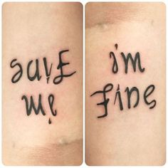 Her Tattoo Says 'I'm Fine' But Watch What Happens When You Turn It Around | World Truth.TV