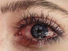 this is hyperrealism drawing Crying Eyes, Crying Girl, Jess Conte, Aesthetic Eyes, Sad Eyes, Sad Pictures, Sad Wallpaper, Eye Photography, Sad Girl