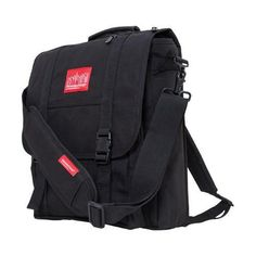 3fcba63ff21d6 Manhattan Portage Commuter Laptop Bag with Back Zipper Black (One Size)  Messenger Backpack
