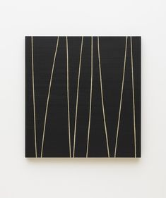 Repetition Thirty-Four - Callum Innes Abstract Painters, Abstract Art, Oil On Canvas, Canvas Art, Turner Prize, V Lines, High Art, Art For Art Sake, Art Tips
