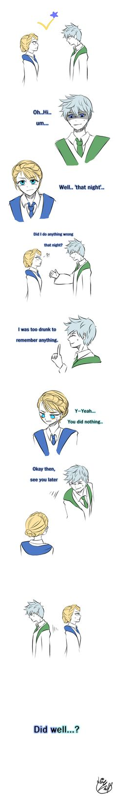 Lie by Lime-Hael on deviantART   Frozen's Elsa and Rise of the Guardians' Jack Frost   J.K. Rowling's Harry Potter