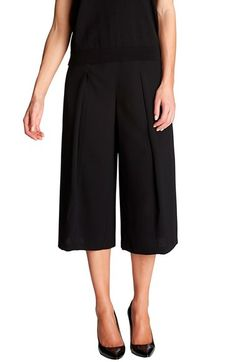 CeCe by Cynthia Steffe Pleat Front Culottes available at #Nordstrom